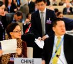China Delegation UN negotations